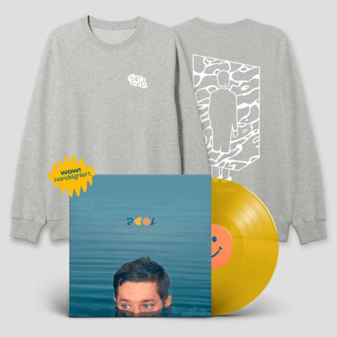 POOL - VINYL + SWEATER (BUNDLE) von Maeckes - LP + Sweater jetzt im Maeckes Shop